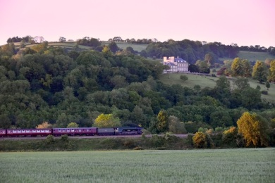 Flying Scotsman at Corston near Bath @livinginthab