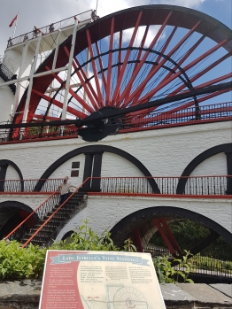 Learning more about Lady Isabella a.k.a. The Laxey Wheel