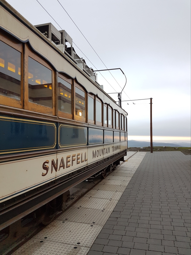 We visited the Summit of Snaefell at Sunset