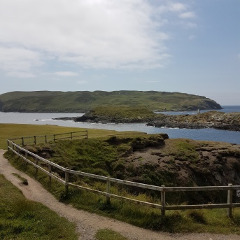 View of the Calf of Man