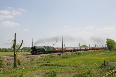 PG Philip Winstanley - Flying Scotsman north of York